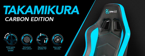 sillas-newskill-takimura-carbon-edition