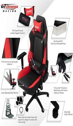 Opinión silla gaming GT Omega Evo XL 1