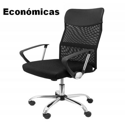 Mejores sillas ergonomicas baratas