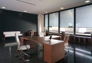 sillas en una oficina