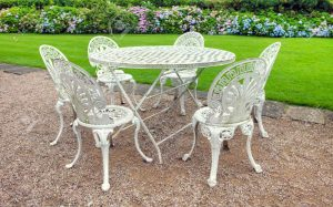 Mejores sillas de hierro para jardín