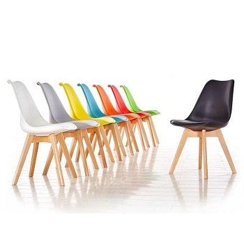 Mejores sillas nordicas de colores