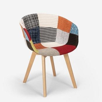 Mejores sillas nordicas de tela