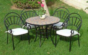 Mejores sillas de forja para jardín