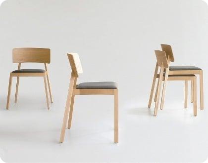 mejores sillas comedor apilables