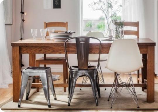 mejores sillas comedor metalicas