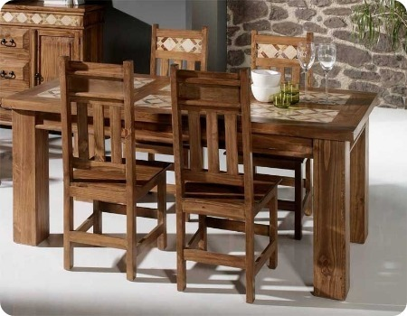 mejores sillas de comedor rusticas