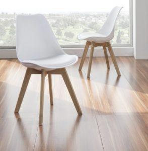 sillas nordicas blancas