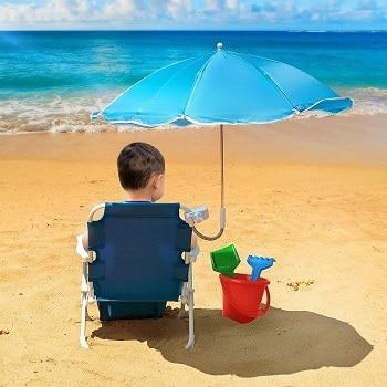 Mejores sillas de playa para niños