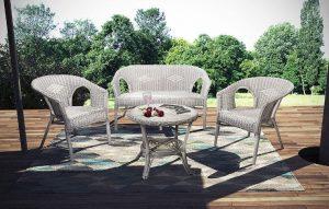 Mejores sillas mimbre jardín
