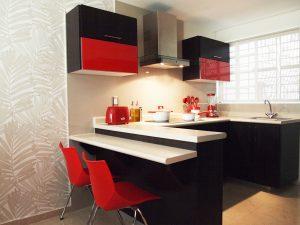 Mejores sillas cocina rojas