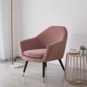 silla de habitación tipo silla rosa