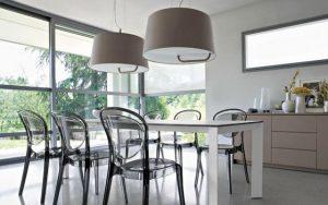 Mejores sillas cocina transparentes