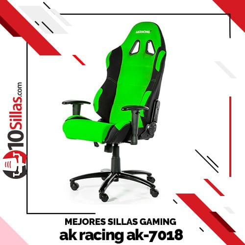 Mejores sillas gaming ak racing ak-7018