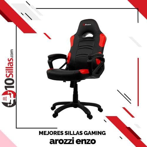 Mejores sillas gaming arozzi enzo