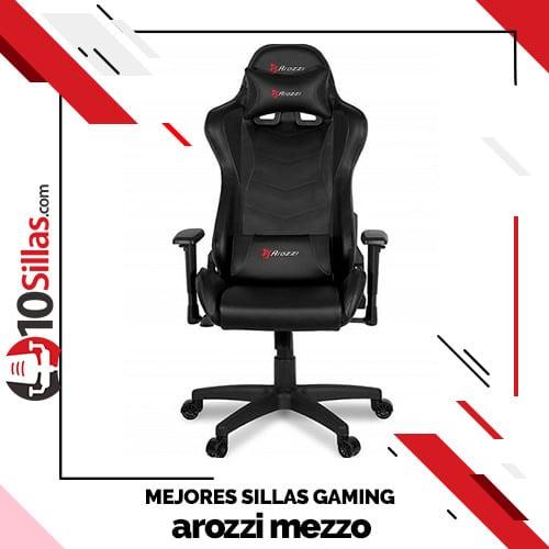 Mejores sillas gaming arozzi mezzo