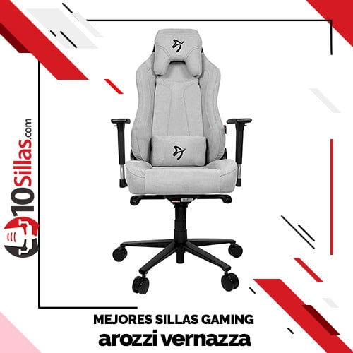 Mejores sillas gaming arozzi vernazza