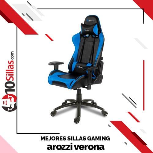 Mejores sillas gaming arozzi verona