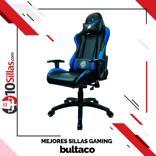 Mejores sillas gaming bultaco