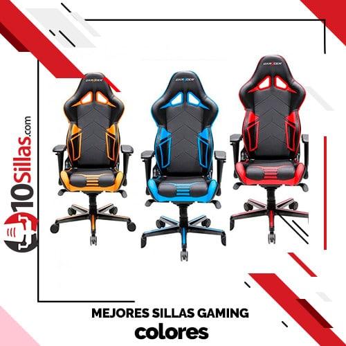 Mejores sillas gaming colores