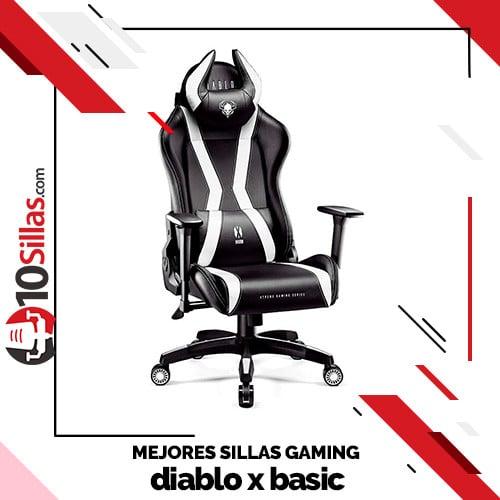 Mejores sillas gaming diablo x basic