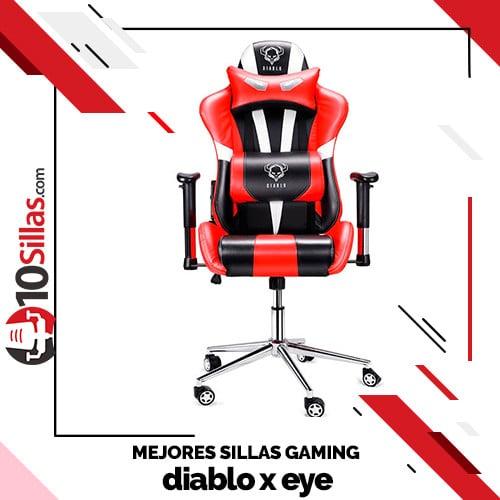 Mejores sillas gaming diablo x eye