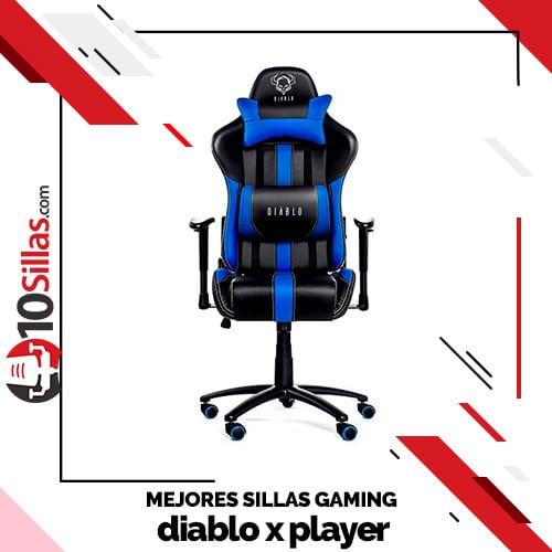 Mejores sillas gaming diablo x player