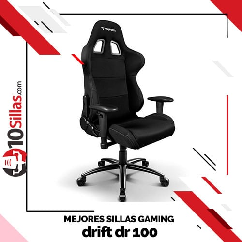 Mejores sillas gaming drift dr 100