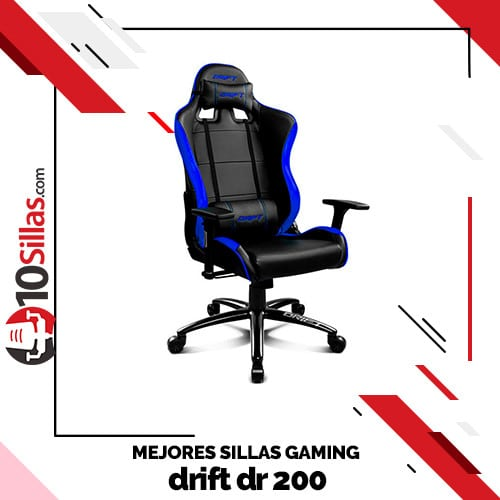 Mejores sillas gaming drift dr 200