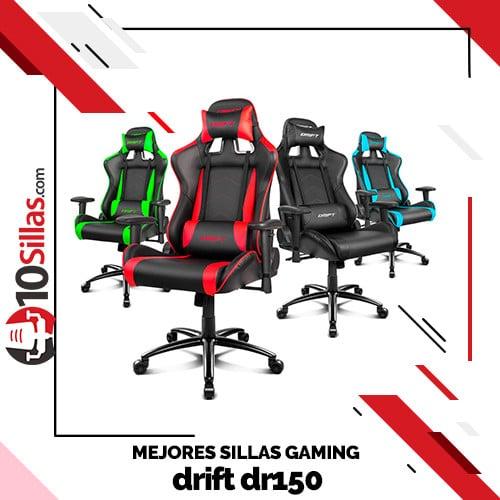 Mejores sillas gaming drift dr150
