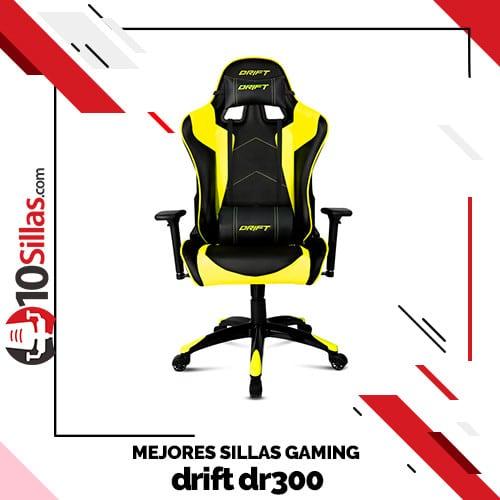 Mejores sillas gaming drift dr300