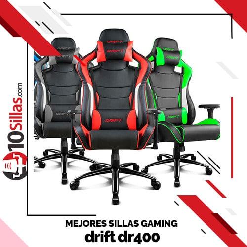 Mejores sillas gaming drift dr400