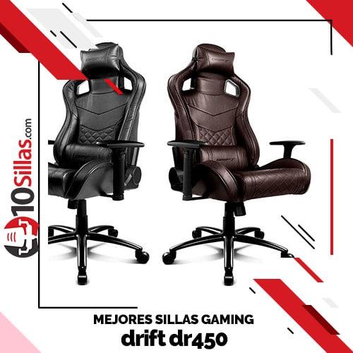 Mejores sillas gaming drift dr450