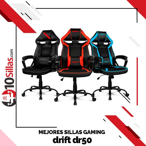 Mejores sillas gaming drift dr50