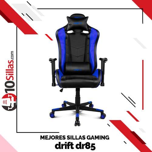 Mejores sillas gaming drift dr85
