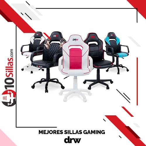 Mejores sillas gaming drw