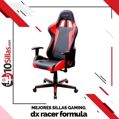 Mejores sillas gaming dx racer formula