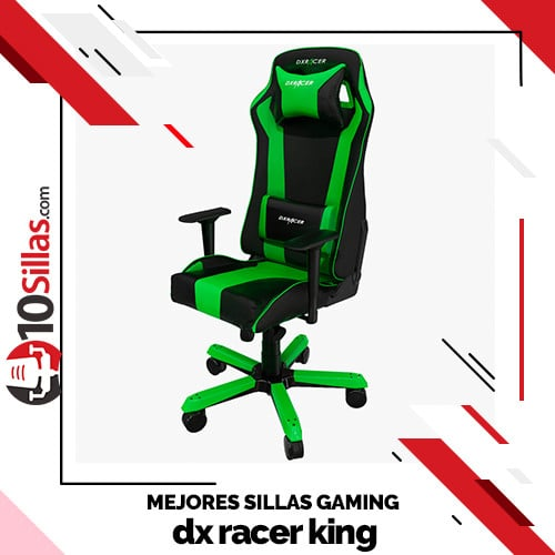 Mejores sillas gaming dx racer king