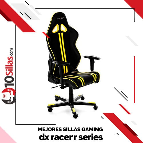 Mejores sillas gaming dx racer r series
