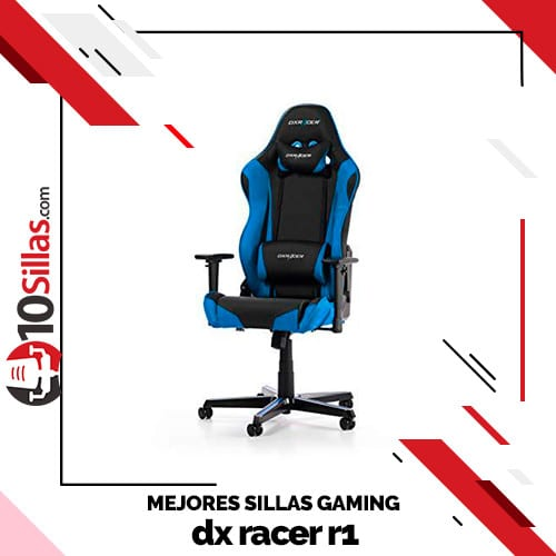 Mejores sillas gaming dx racer r1