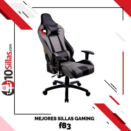 Mejores sillas gaming f83