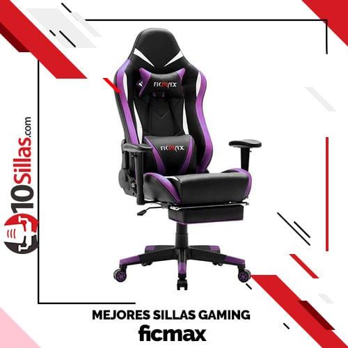 Mejores sillas gaming ficmax