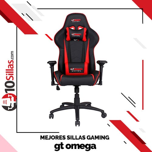 Mejores sillas gaming gt omega
