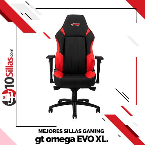 Mejores sillas gaming gt omega EVO XL.