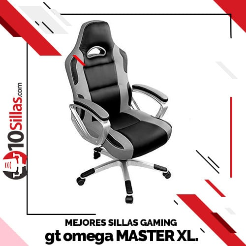 Mejores sillas gaming gt omega MASTER XL.