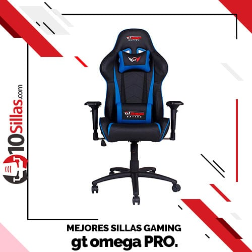 Mejores sillas gaming gt omega PRO.