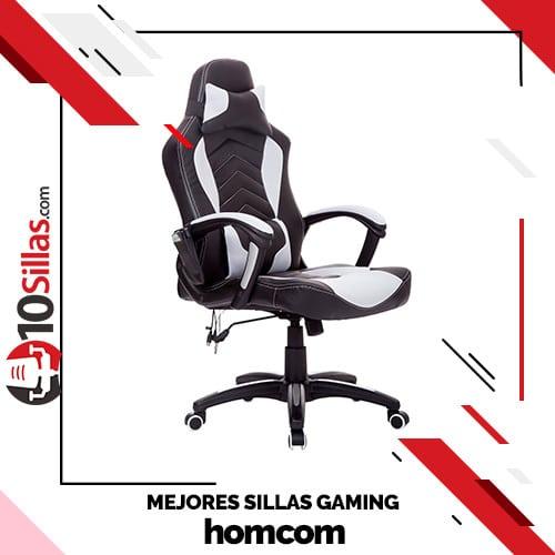 Mejores sillas gaming homcom