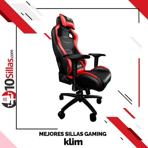 Mejores sillas gaming klim