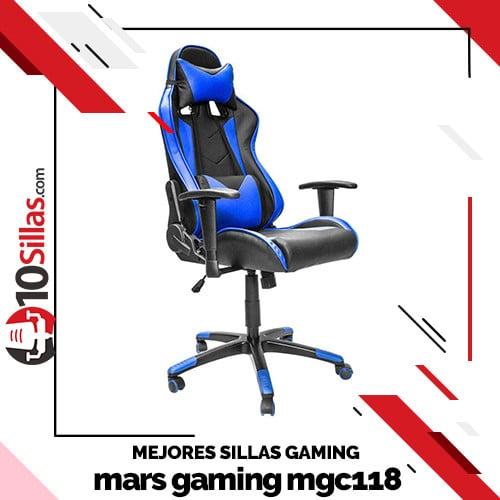 Mejores sillas gaming mars gaming mgc118