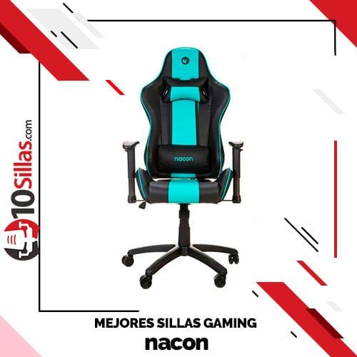 Mejores sillas gaming nacon